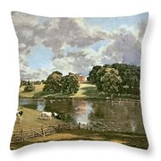 Wivenhoe Park Throw Pillow by John Constable