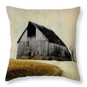 Work Wanted Throw Pillow by Julie Hamilton