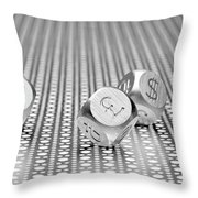 World Currencies 1 Throw Pillow by Tom Mc Nemar