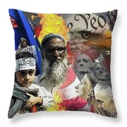 World War Three Throw Pillow by Joseph Juvenal