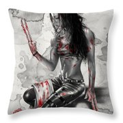 X23 Throw Pillow by Pete Tapang
