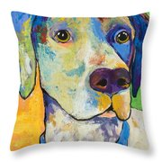 Yancy Throw Pillow by Pat Saunders-White