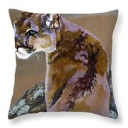You Talking To Me Throw Pillow by J W Baker
