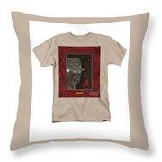 Bear Bryant  Throw Pillow by Herb Strobino