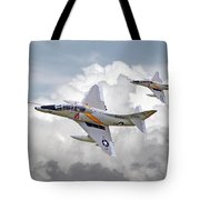 A4 - Skyhawks Tote Bag by Pat Speirs