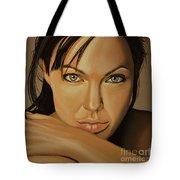Angelina Jolie Voight Tote Bag by Paul Meijering
