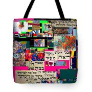 Atomic Bomb Of Purity 2 Tote Bag by David Baruch Wolk