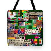 Atomic Bomb Of Purity 2d Tote Bag by David Baruch Wolk