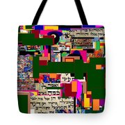 Atomic Bomb Of Purity 5 Tote Bag by David Baruch Wolk