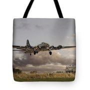 B17- 'airborne' Tote Bag by Pat Speirs