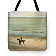 Beach Dialogue Dunwich Tote Bag by Timothy  Easton