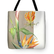 Bird Of Paradise 09 Elena Yakubovich Tote Bag by Elena Yakubovich