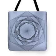 Energy Spiral Tote Bag by Jason Padgett