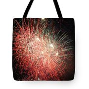 Fireworks Tote Bag by Alan Hutchins