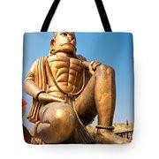 Great Bronze Hanuman - India Tote Bag by Luciano Mortula