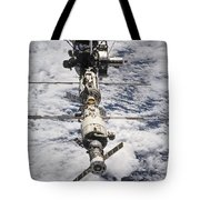 International Space Station Tote Bag by Anonymous