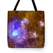 Life And Death In A Star-forming Cloud Tote Bag by Adam Romanowicz