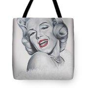 Marilyn Monroe Tote Bag by Eric Dee