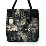 Poster Of The Mastersingers Of Nuremberg  Tote Bag by Richard Wagner