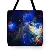 Tarantula Nebula 3 Tote Bag by Jennifer Rondinelli Reilly - Fine Art Photography