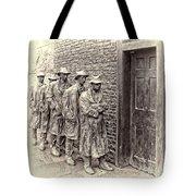 The Bread Line Sculpture Tote Bag by Jack Schultz