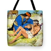 The Good Samaritan  Tote Bag by Clive Uptton