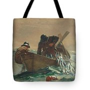 The Herring Net Tote Bag by Winslow Homer