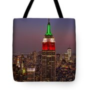 Top Of The Rock Tote Bag by Susan Candelario