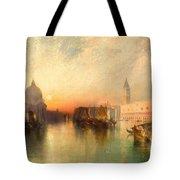 View Of Venice Tote Bag by Thomas Moran