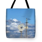Water Windmills Tote Bag by Stelios Kleanthous