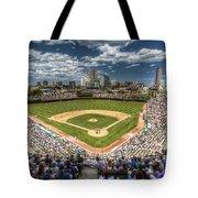 0234 Wrigley Field Tote Bag by Steve Sturgill