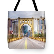 0305  Pittsburgh 10 Tote Bag by Steve Sturgill