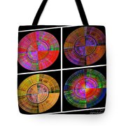 0454 Abstract Thought Tote Bag by Chowdary V Arikatla
