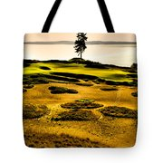 #15 At Chambers Bay Golf Course - Location Of The 2015 U.s. Open Tournament Tote Bag by David Patterson