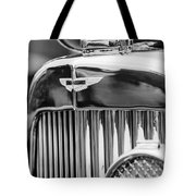 1934 Aston Martin Mark II Short Chassis 2-4 Seater Grille Emblem Tote Bag by Jill Reger