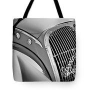 1937 Peugeot 402 Darl'mat Legere Special Sport Roadster Recreation Grille Emblem Tote Bag by Jill Reger