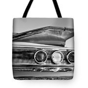 1960 Chevrolet Impala Resto Rod Taillight Tote Bag by Jill Reger
