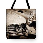 1960 Maserati Grille Emblem Tote Bag by Jill Reger