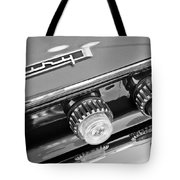 1962 Plymouth Fury Taillights And Emblem Tote Bag by Jill Reger