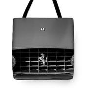 1963 Ferrari Grille Emblem Tote Bag by Jill Reger