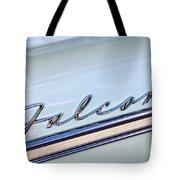 1963 Ford Falcon Futura Convertible  Emblem Tote Bag by Jill Reger