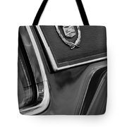 1969 Cadillac Eldorado Emblem Tote Bag by Jill Reger