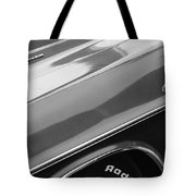 1970 Dodge Challenger Rt Convertible Emblems Tote Bag by Jill Reger