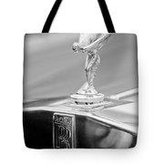 1984 Rolls-royce Silver Spur Hood Ornament Tote Bag by Jill Reger