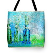 1-2-3 Bottles - S13ast Tote Bag by Variance Collections