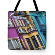 Abstract Istanbul 02 Tote Bag by Antony McAulay