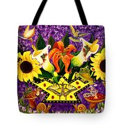 All Gods Creatures Tote Bag by Adele Moscaritolo