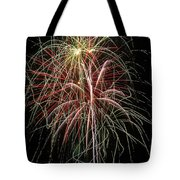 Amazing Fireworks Tote Bag by Garry Gay