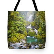 Amazing Waterfall Tote Bag by Tim Hester