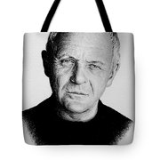 Anthony Hopkins Tote Bag by Andrew Read